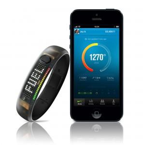 Nike FuelBand smartphone