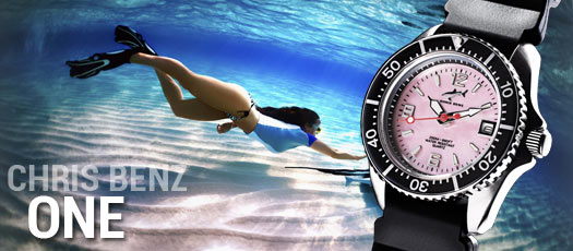 montres de plongée Chris Benz