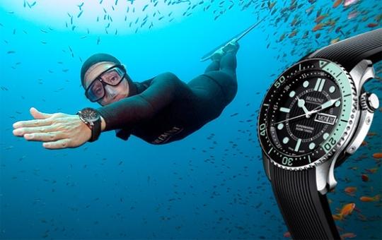 montres de plongée de luxe