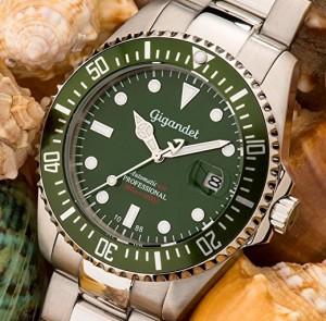 2e606779e6 Gigandet est une très bonne marque de montre sportive. Et ce modèle fait  partie de sa gamme Sea Ground spécialement conçue pour la plongée.