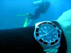 plongee sous-marine montre