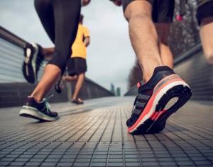 chaussures de running avec bon amorti