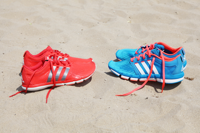 comparatif running chaussures