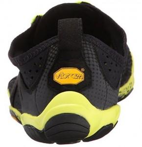 d7ad407922e Cette chaussure de running minimaliste masculin est disponible en deux  coloris   noir – jaune ou gris – bleu – orange.